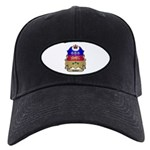 Quebec Shield Black Cap