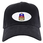 Quebec Shield Black Cap