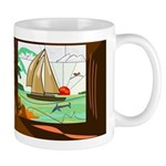 Stained-Glas Sail Mug