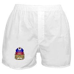Quebec Shield Boxer Shorts
