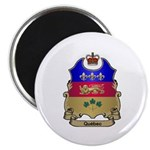 Quebec Shield Magnet