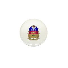 Quebec Shield Mini Button (10 pack)