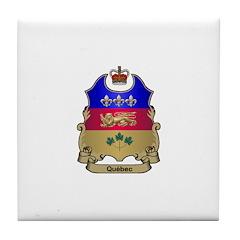 Quebec Shield Tile Coaster