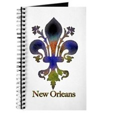 New Orleans colorful Fleur Journal