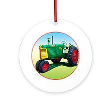 Cute Farmer Ornament (Round)