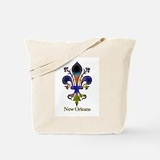 New Orleans colorful Fleur Tote Bag