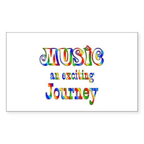 Music Sticker (Rectangle)