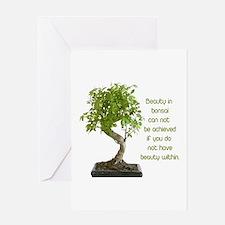 Bonsai Beauty Greeting Card