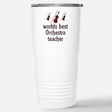 Worlds Best Orchestra Teacher Travel Mug