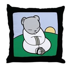 Tao of Hamster Throw Pillow