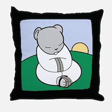 Tao of Hamster Throw Pillow