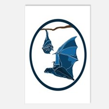 Bats Postcards (Package of 8)