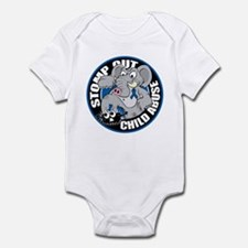 Stomp Out Child Abuse Infant Bodysuit