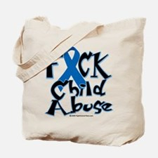 Fuck Child Abuse Tote Bag