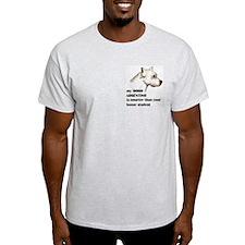 smart dogo argentino Ash Grey T-Shirt