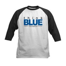 Child Abuse Think Blue Tee
