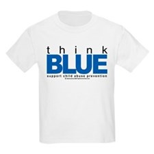 Child Abuse Think Blue T-Shirt