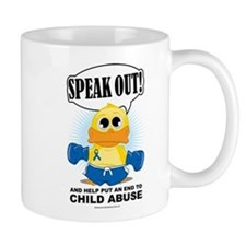 Boxing Duck Child Abuse Mug