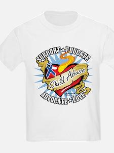 Child Abuse Classic Heart T-Shirt