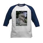 Lions on Kids Baseball Jersey