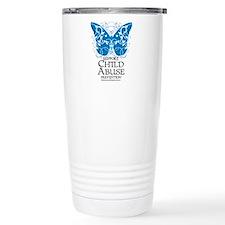 Child Abuse Butterfly Travel Mug