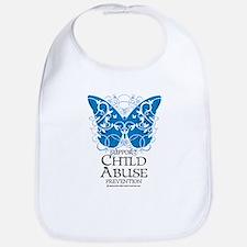 Child Abuse Butterfly Bib