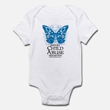 Child Abuse Butterfly Infant Bodysuit