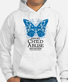 Child Abuse Butterfly Hoodie