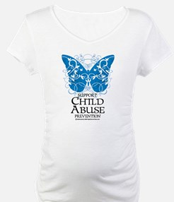 Child Abuse Butterfly Shirt
