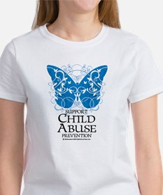 Child Abuse Butterfly Women's T-Shirt