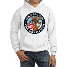 Child Abuse Can Kiss My Ass Hoodie