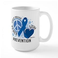 Child Abuse PCL Mug