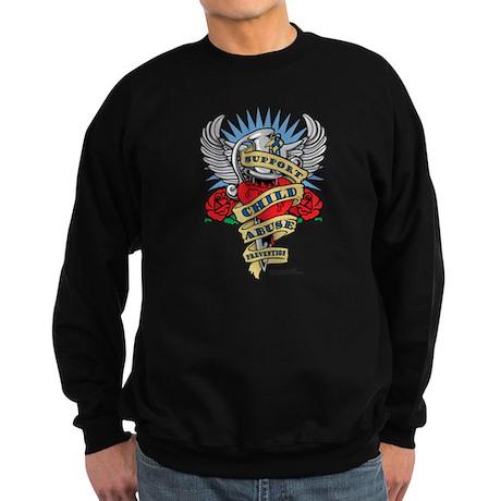 Child Abuse Dagger Sweatshirt (dark)