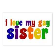 I Love My Gay Sister Postcards (Package of 8)