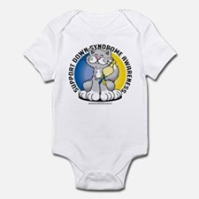 Paws For Down Syndrome Cat Infant Bodysuit
