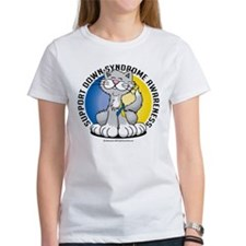 Paws For Down Syndrome Cat Tee