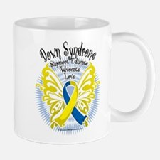 Down Syndrome Butterfly 3 Small Small Mug
