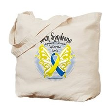Down Syndrome Butterfly 3 Tote Bag
