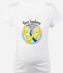 Down Syndrome Butterfly 3 Shirt