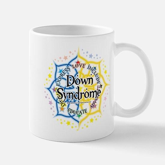 Down Syndrome Lotus Mug