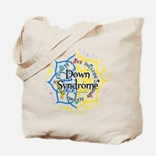 Down Syndrome Lotus Tote Bag
