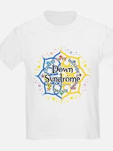 Down Syndrome Lotus T-Shirt
