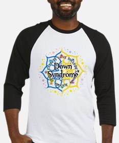 Down Syndrome Lotus Baseball Jersey