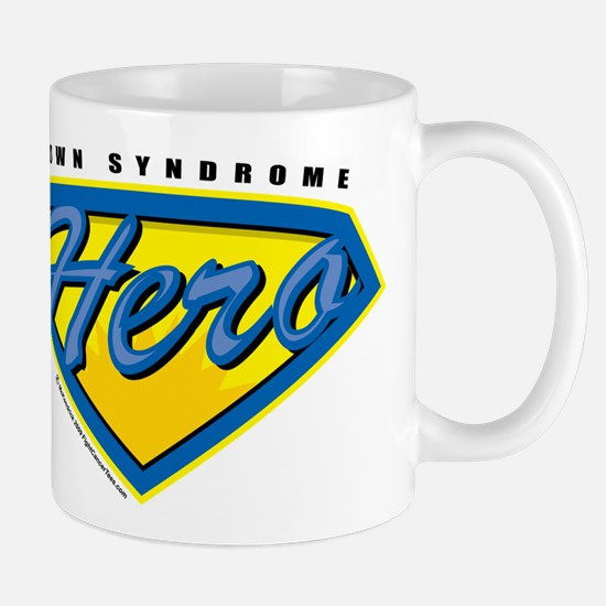 Down Syndrome Super Hero Mug
