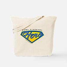 Down Syndrome Super Hero Tote Bag