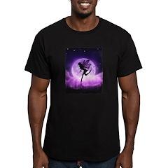 Seeking Serenity Men's Fitted T-Shirt (dark)