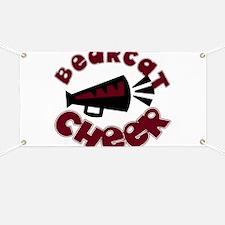 BEARCAT CHEER *9* Banner