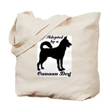 ADOPTED by a Canaan Dog Tote Bag