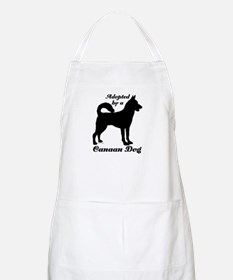 ADOPTED by a Canaan Dog BBQ Apron