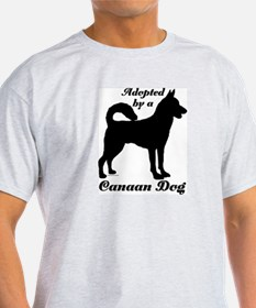 ADOPTED by a Canaan Dog T-Shirt